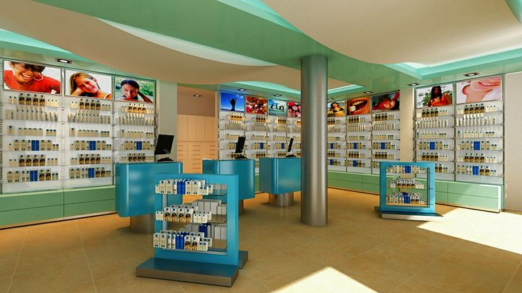 Pharmacy Interior Design Ideas