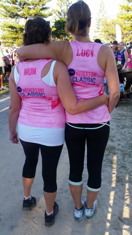 Mother's Day Classic ladies singlets. Printed by Emerald Dreams. #emeralddreams #digitalprints #fabricprinting