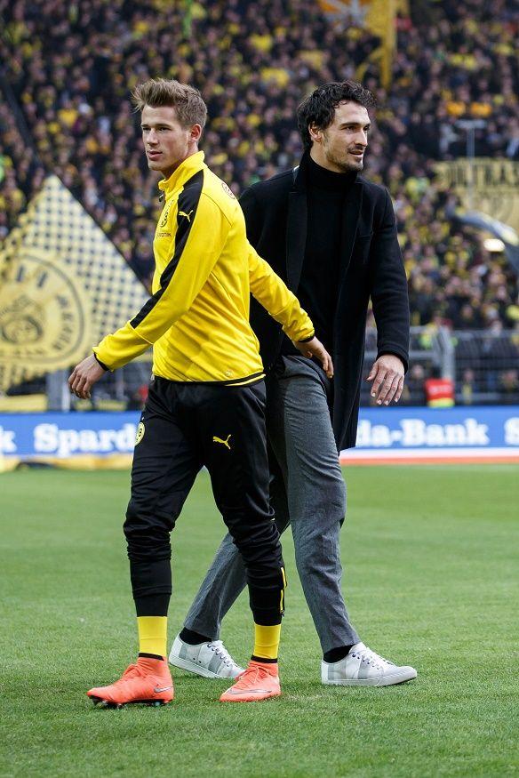 Mats Hummels and Erik Durm