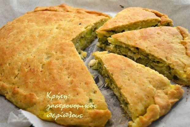 Κολοκυθόπιτα με εύκολο σπιτικό φύλλο και κρητικά τυριά | Κουζίνα | Bostanistas.gr : Ιστορίες για να τρεφόμαστε διαφορετικά