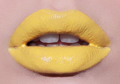 NEW YOLK CITY opaque yellow lipstick