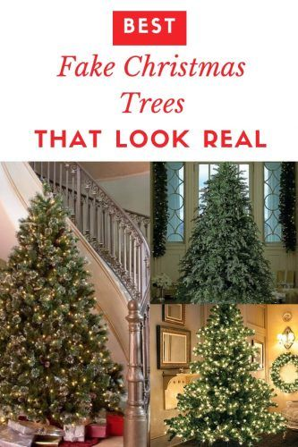 best fake christmas trees that look real the best artificial christmas trees that look like