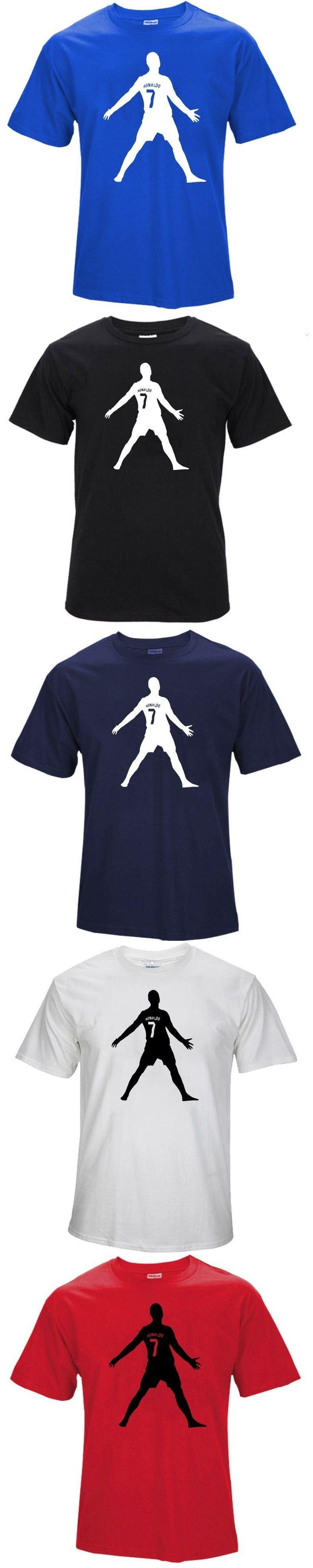 Summer World Cup Cristiano Ronaldo men's T-shirt man t shirt summer 2016 child bodybuilding t-shirt survetement footbal #menst-shirtssummer