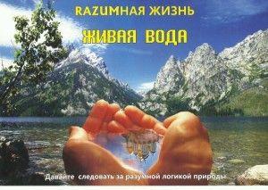 #живая #вода и ее влияние на организм человека