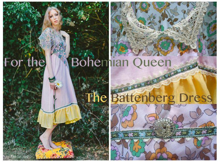 'The Battenberg Dress' by Alice Halliday €180 SiZE 8-10