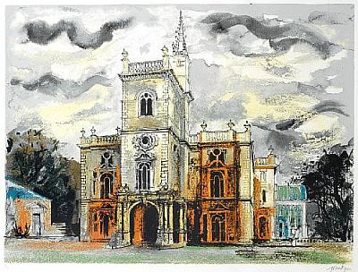 John Piper: Victorian Dreams, Flintham Hall John Piper Jpg, A2 Art, John Piper Artists, Artists John Piper, Google Search, Art Architecture, 20Th Century, Dreams Palaces