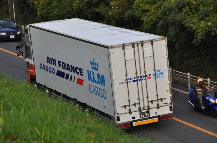 Air France - KLM Cargo truck