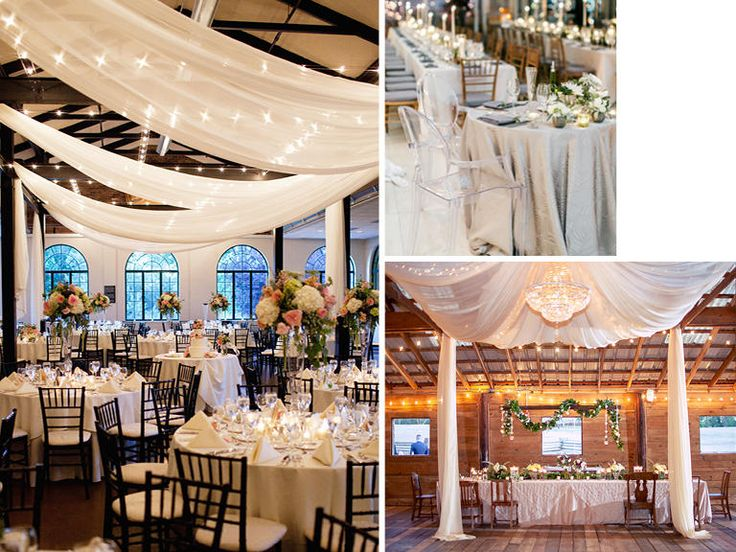 73 best winter wedding ideas images on pinterest winter wedding winter wedding reception decor trends cozy spaces softened w fabric junglespirit Choice Image