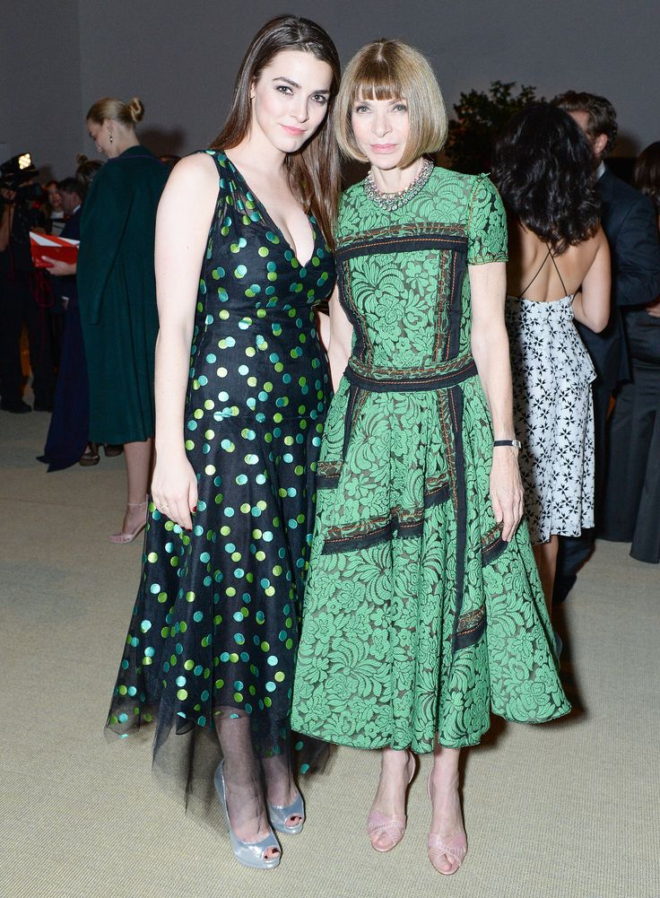 Bee Shaffer and Anna Wintour at the CFDA/Vogue Fashion Fund Awards