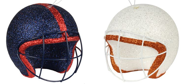Get your Sports ornament helmets now.  #football #sports #helmets #ornaments