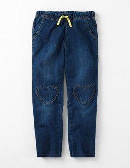 Mid Vintage Heart Patch Pants Boden