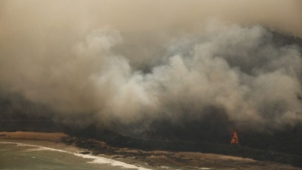 Fires burn near Wye River and Separation Creek, near Lorne. A reminder that scanning photos and keepsakes and storing a USB offsite or in the cloud can save family memories,