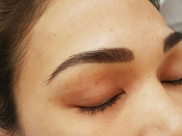 Soft Hairstroke Brow tattoo @covetbrows  #happybrow'ing