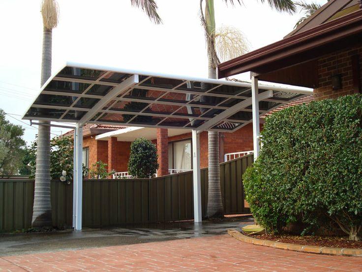 how to build a freestanding carport