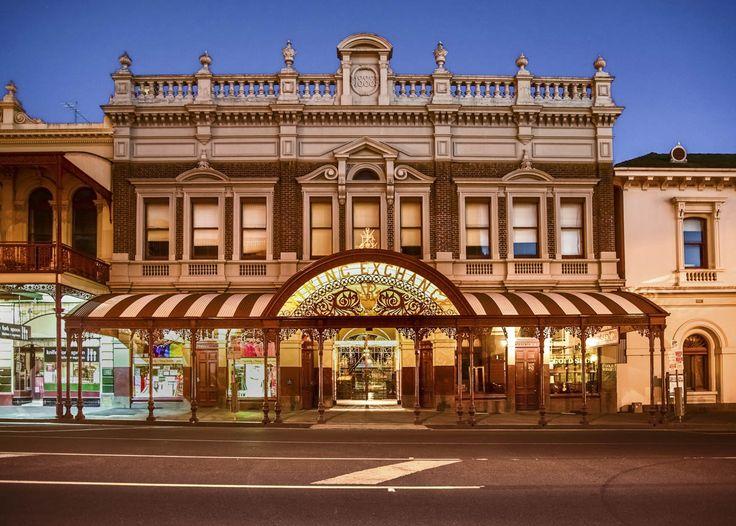 10 things we love about Ballarat. RoyalAuto April 2016. Photographer: Anne Morley #Ballarat #Goldfields #Lydiard Street #MiningExchange #LydiardStreetMiningExchange #Historic #HistoricBuildings #Architecture #HistoricArchitecture