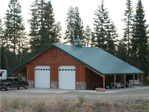 15 best building pole barn images on pinterest pole for 30x50 garage packages