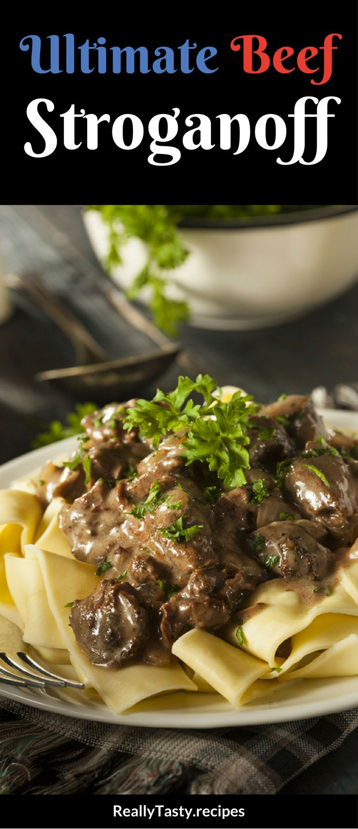 When I was in school, the school dinners we were served weren't always fantastic. But the exception was Beef Stroganoff.