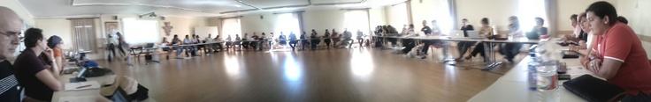 Junta Ampliada Espiral - Veciana 14-15-16 de septiembre 2012