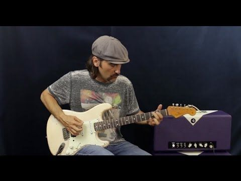 How To Play Rhythm Guitar - Using Hendrix Style Riffs - In Common Chord Progressions - Guitar Lesson - YouTube