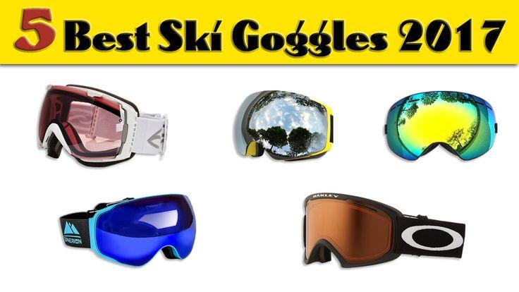 5 Best Ski Goggles 2017 | Best Snowboard Goggles | Best Ski Goggles Amaz...