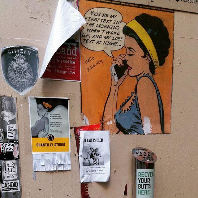 Laneway art in Melbourne #streetart #secretfinds #melbourne #colours #explore #thebigexplorer #art #instatravel #travel #wanderlust #wanderer #australia