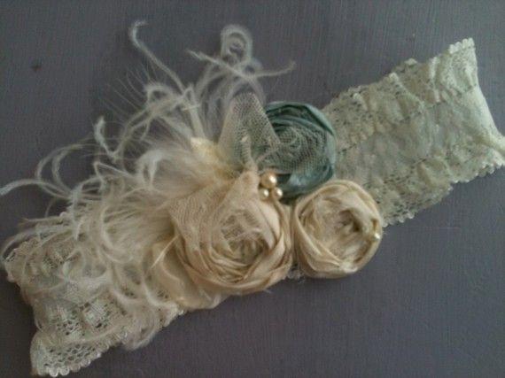 Vintage Inspired Rosette Garter Belt Wedding By Cozettecouture 27 95 Jenn L Allensworth