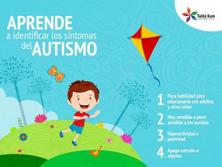 Para el correcto tratamiento del autismo, es importante que se detecte lo antes posible y se inicie el programa adecuado. Aprende a identificar los síntomas.