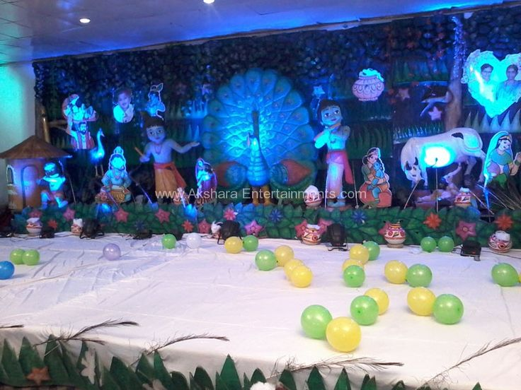 Krishna 3d birthday themes birthday 2d themes for 3d decoration for birthday