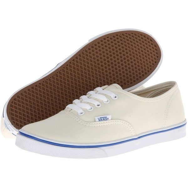 Vans Authentictm Lo Pro (White/True White) Skate Shoes (160 BRL) ❤ liked on Polyvore featuring shoes, sneakers, vans, vans lo pro, vans shoes, holiday shoes, special occasion shoes, vans sneakers and white sneakers