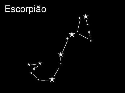 Esquema da constelação ESCORPIÃO - Pesquisa Google