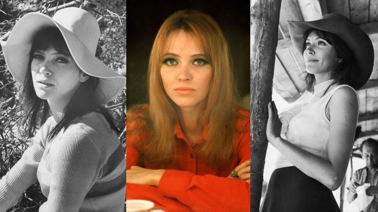 """Anna Karina  """"I can't help it, I'm a Francophile. She is both strong and graceful. Her roles are that of modern women."""""""
