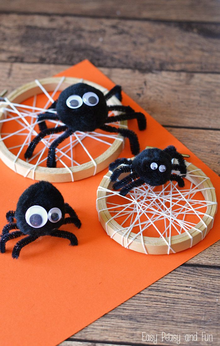 Silly Spider Craft - Easy Peasy and Fun