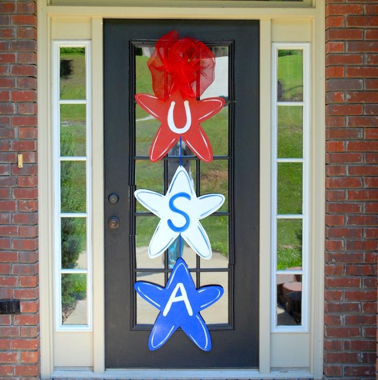 4th Of July Decorations Diy Door Hangers