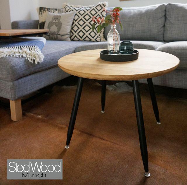 sofatisch rund heute pr sentieren wir euch unseren neuen helles eichenholz kombiniert mit. Black Bedroom Furniture Sets. Home Design Ideas