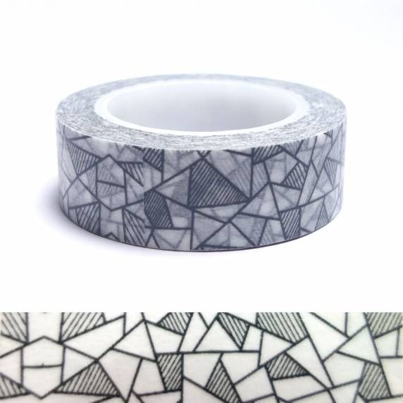 Masking tape vitrail
