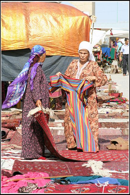 At the Market - Turkmenistan