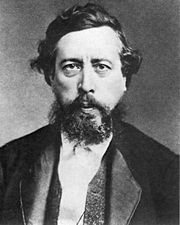 """Wilhelm Liebknecht (1826-1900) -   German social democrat and one of the principal initiators of the Social Democratic Party(SPD). His political career was a pioneering project combining Marxist revolutionary theory with practical, legal political activity. By his management, the SPD grew from a tiny sect to become Germany's largest political party. He was the father of Karl Liebknecht and Theodor Liebknecht.1875年,他在哥達同奥古斯特·倍倍尔及伯恩斯坦准备了""""统一党国会""""(Einigungsparteitag)"""