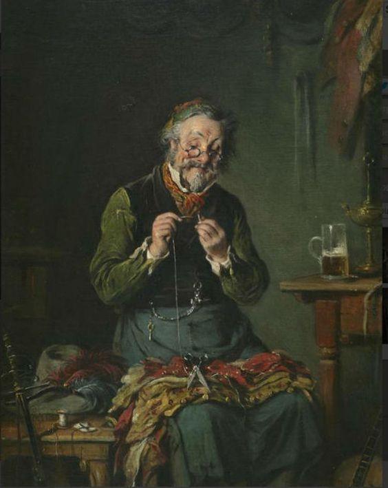 Hermann Armin Kern (Hungarian 1839-1912):