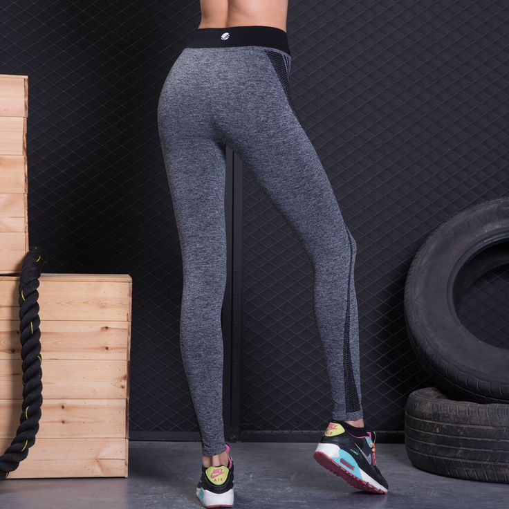 YWBIN Brand professional Stretched trousers Women Sports Pants Gym High Elastic yoga Tights Sports Leggings Fitness full length  Price: 13.98 & FREE Shipping  #hashtag2