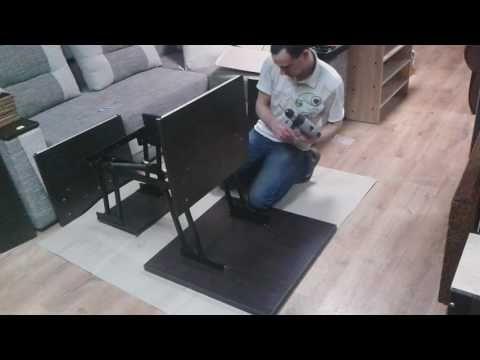 Зборка стола трансформера от Mebel Star - YouTube