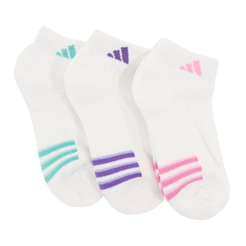 Adidas Girls Low Cut Socks - 3 Pack/Medium. From #adidas. Price: $10.00