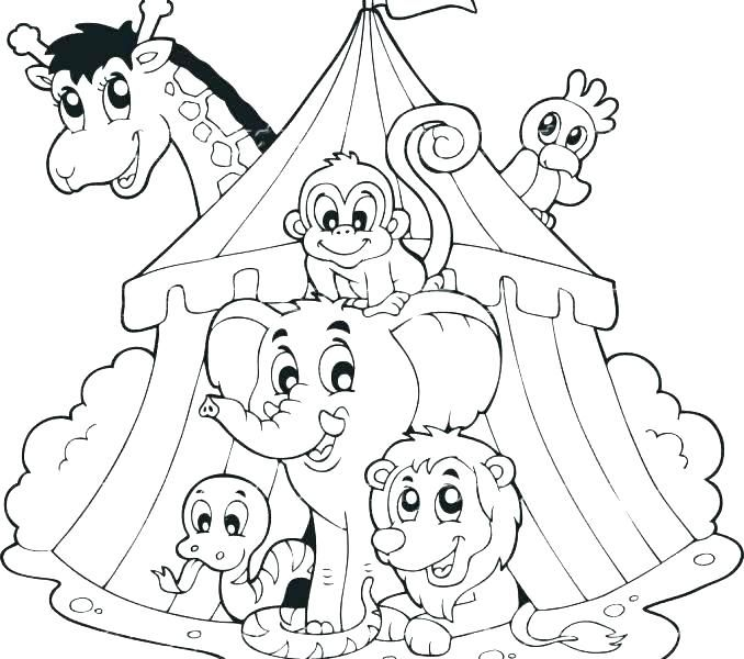 Image Result For Circus Animals Coloring Pages Coloring Books Animal Coloring Books Coloring Pages