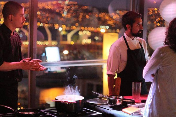 Taller de cocina italiana Gourmet. En el Restaurante Arrayán. Valparaiso