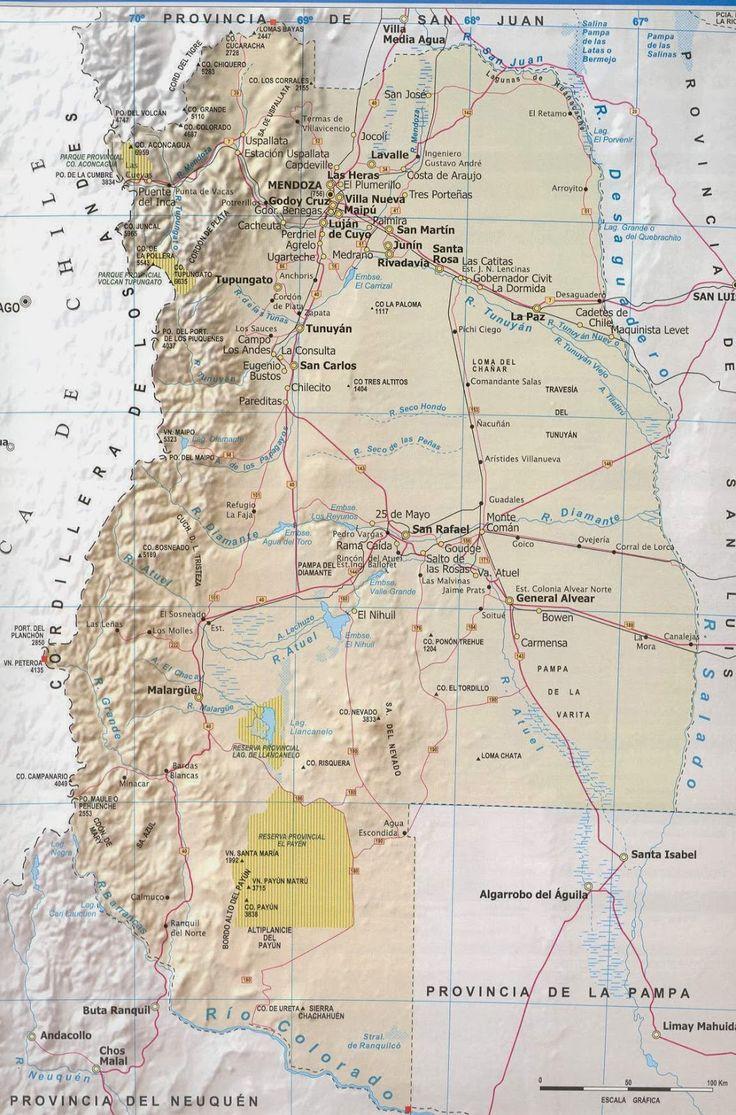 MAPAS DE ARGENTINA E SUS PROVINCIAS - CHILE POST™