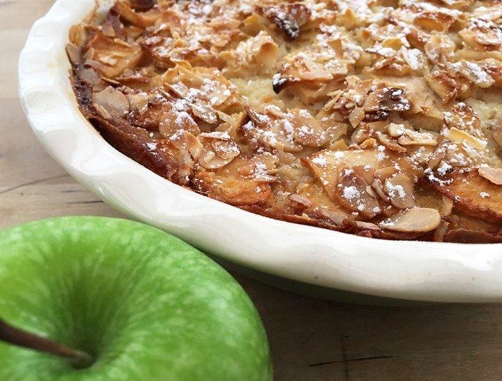 La tarta (pudding) de manzana más fácil del mundo (sin gluten) - Blog decoración estilo nórdico - delikatissen