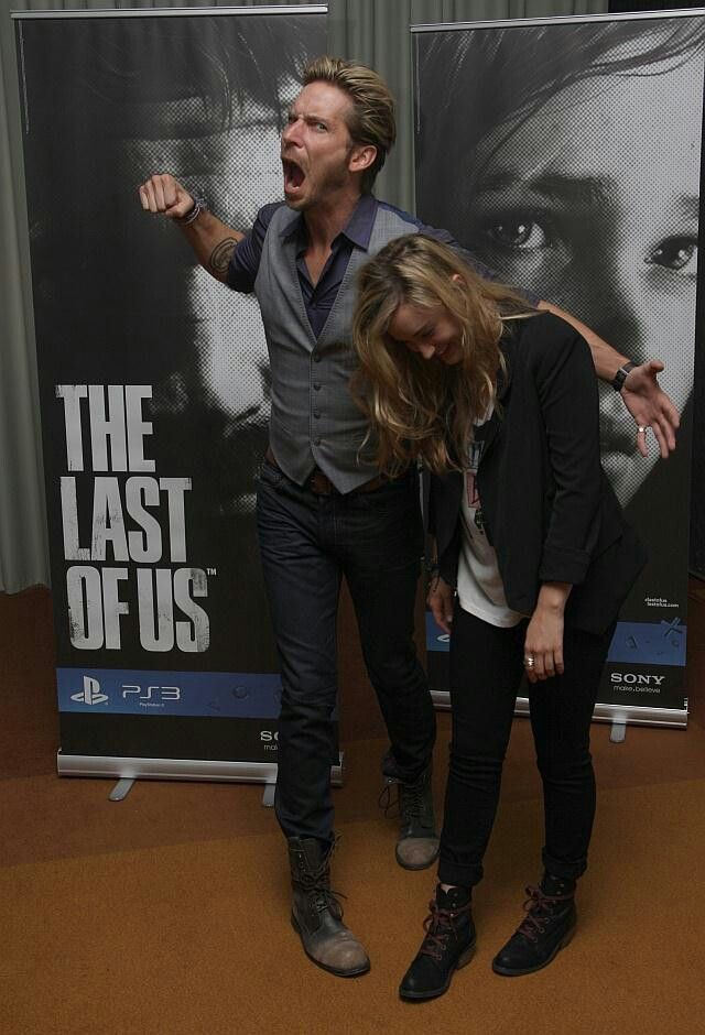 Last of Us - Troy Baker and Ashley Johnson <3
