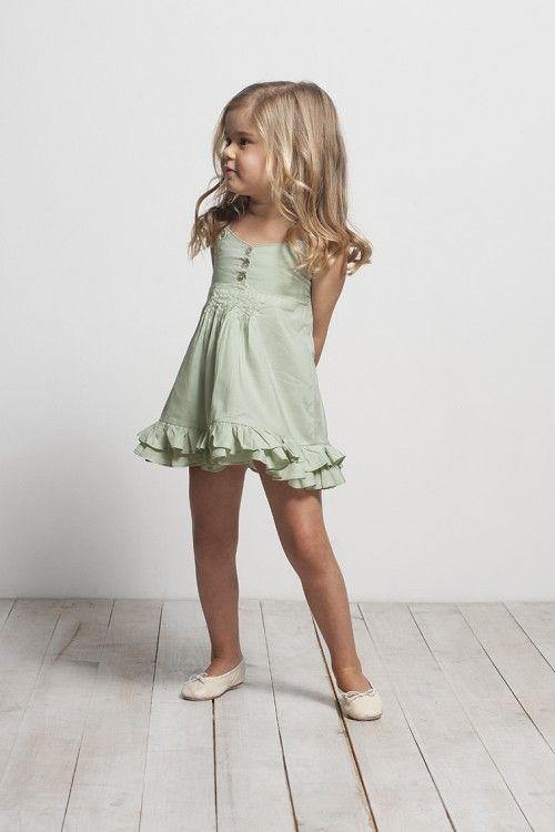 Green dress - Sainte Claire