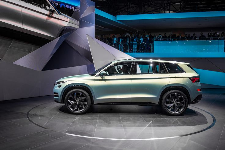 With a 2.79-meter wheelbase, at 4.70 meters long, 1.91 meters wide and 1.68 meters tall, the ŠKODA VisionS makes a bold statement on the road. #VisionS ---> http://goo.gl/ed9yfR