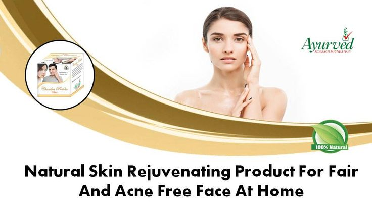 You can find natural skin rejuvenating product for fair face at https://www.ayurvedresearch.com/herbal-face-pack-power-for-acne-scars.htm  Dear friend, in this video we are going to discuss about natural skin rejuvenating product for fair face. People who want to get acne free face at home must use Chandra Prabha ubtan. These natural skin rejuvenating products improve complexion, nourishes skin, and prevent outbreaks of acne.