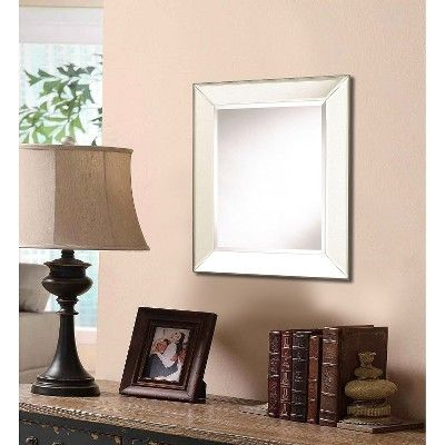 Rectangle Porter Frameless Decorative Wall Mirror - Cooper Classics